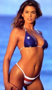 cindy-crawford-american-flag-stars-stripes-bikini